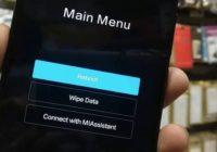 Cara Hard Reset Xiaomi Redmi 3 / 3s / 3 Pro