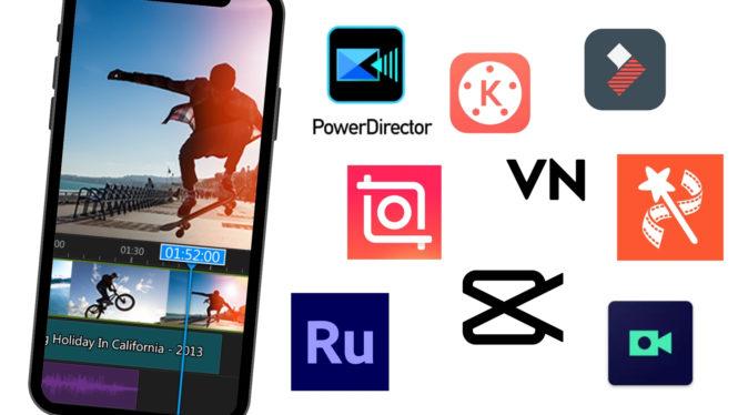 10 Aplikasi Editing Video di Ponsel